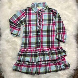 💗3/$30💗 Crazy 8 Adorable Plaid Dress size 8